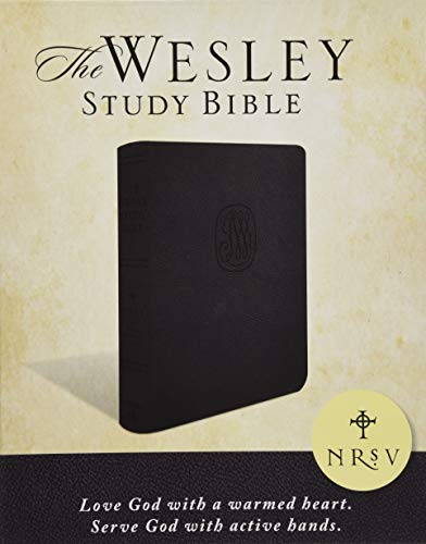 Compare Textbook Prices for NRSV Wesley Study Bible - Charcoal Bonded Leather: New Revised Standard Version Box Lea Edition ISBN 9781501847554 by Green, Joel B.,Willimon, William H.