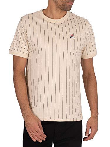 Fila LM181L16-684366 GUILO Camiseta Hombre Color: Beige Talla: 2XL