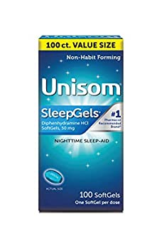 Unisom Nighttime Sleep-Aid Gels Diphenhydramine HCI 100 Count