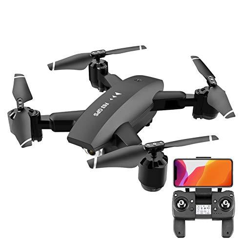 R/C Quadcopter Drone Met 4K HD Dubbele Camera, 5G Wifi FPV/Optisch Vloeiend/One Key Operation/Slim Volgen/Traject Vlucht, Verjaardag Cadeaus Voor Beginners Volwassenen Kinderen