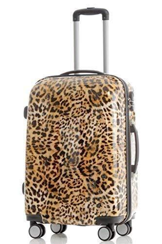 Leopard - Trolley Koffer, Wahlweise: Set 4-teilig, Trolley-XL, L, M, Beauty-Case (XL)