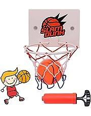 Basketbalset Basketbalkorf Indoor Basketbal Sport Set Kinderen Indoor Basketbal Set Mini Hoop Basketbal Basketbal Hoop Voor Kinderen En Volwassenen Met Zuignap Minibasketbal En Luchtpomp