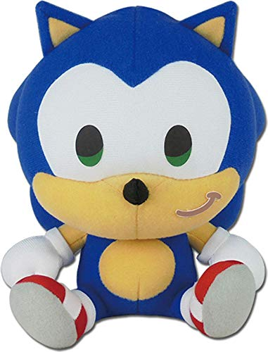 Sonic The Hedgehog -SD Sonic Sitting Plush 7