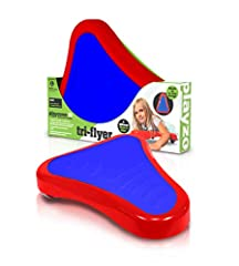 ACTIVE PLAY EVERY DAY - Playzone-fit is a Colorado-based company that focuses on active kid's toys that will inspire children to get moving and stay active. The Playzone-fit Tri-Flyer is excellent for improving core strength and balance. 360 SPINNING...