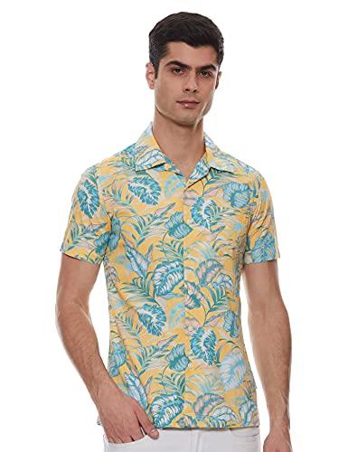 Amazon Brand – House & Shields Men's Regular fit Casual Shirt