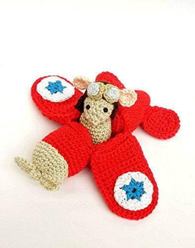 Amigurumi Doll Airplane Crochet Pattern Stuffed Toy   500x394