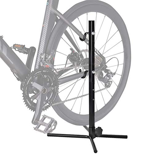 LotCow Bike Stand Indoor Storage Bicycle Stand, Simple Bike Holder Repair Stands Floor Parking Rack for Maintenance, Space Saving Portable Bike Rack for Garage, A Good Choice for Home Bikes Storage