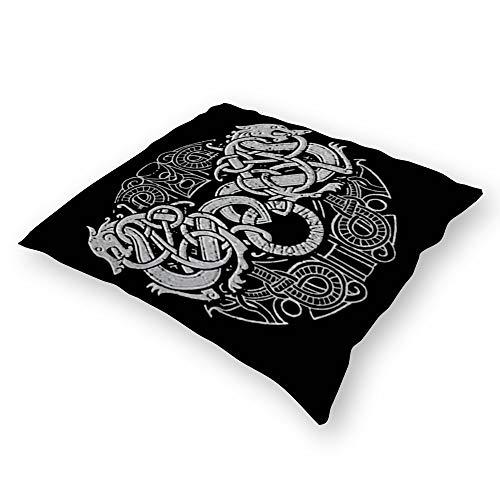 Throw Pillowcase Plush Pillowcase Super Soft Pillow Cover Case For Holding Pillow Double-Sided Amon Amarth Logo (18''×18'')