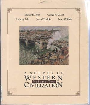 Survey of Western Civilization Volume Tw 0314261370 Book Cover
