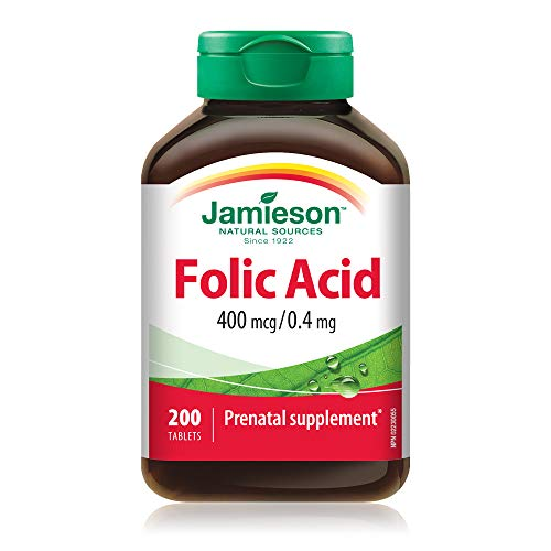 Jamieson Folic Acid 400 mcg/0.4 mg