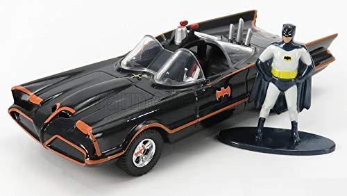 JADA バットマン バットモービル TVシリーズ ミニカー フィギア付き 1/32 BATMAN BATMOBILE 1966 CLASSIC TV SERIES [並行輸入品]