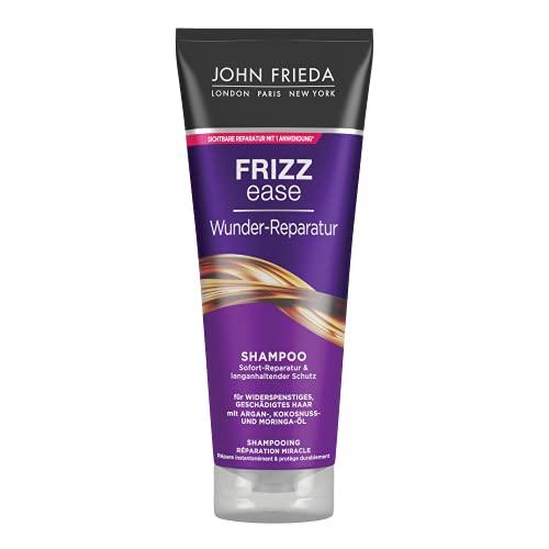 John Frieda Frizz Ease Wunder Reparatur Shampoo (250 ml) - Sofort-Reparatur, Geschmeidigkeit und langanhaltender Schutz
