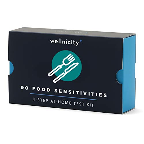 Wellnicity at-Home Food Sensitivities Test Kit, Measures 90 Foods