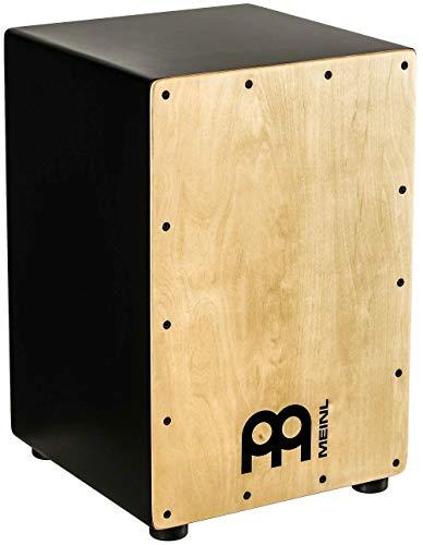 MEINL Percussion Headliner Serie Snare Cajon (MCAJ100BK-MA)
