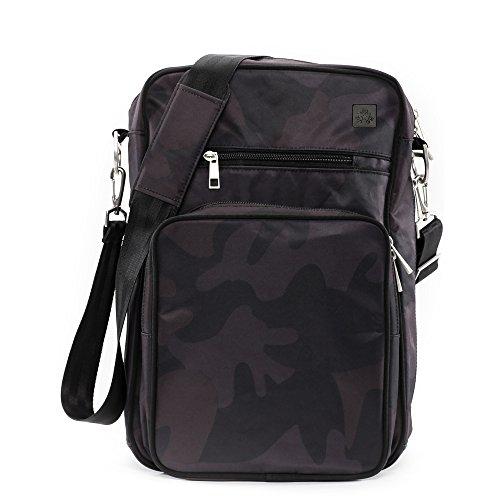 JuJuBe Onyx Helix Messenger Bag collection - Black Ops