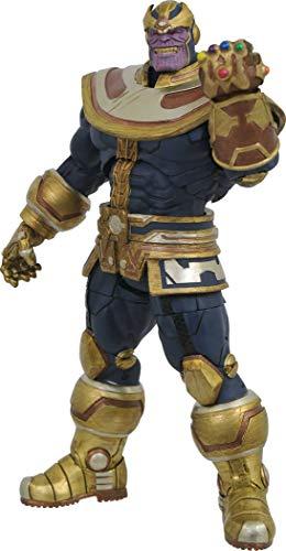 DIAMOND SELECT TOYS Marvel Select Thanos Infinity Figura de Acción, Multicolor, Talla Única