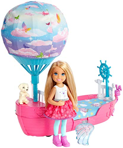 Barbie- Dreamtopia Magical Dreamboat Mágico de Chelsea, Multicolor (Mattel DWP59)