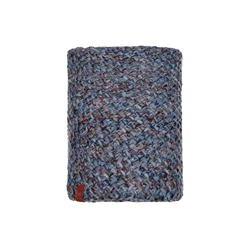 Buff Knitted und Polar Margo Neckwarmer, Blue, One Size