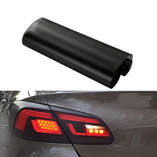 NewL 30,5 x 121,9 cm selbstklebende Auto-Tönungsfolie für Scheinwerfer, Rücklichter, Nebelscheinwerfer, Vinyl, Rauchgrau