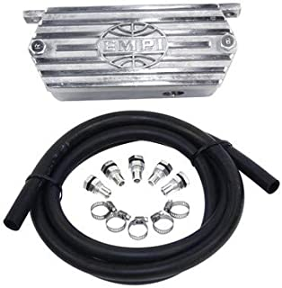 Appletree Automotive Cast Aluminum Breather System, with Valve Cover Vents Compatible with VW & Dune Buggy
