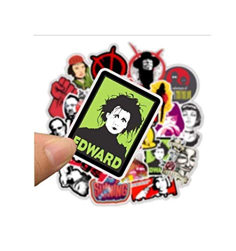 votgl stickers 50 stks Klassieke Film Stickers voor Bagage Laptop Art Schilderen Pulp Fictie Poster Stickers Waterdichte Skateboard Speelgoed