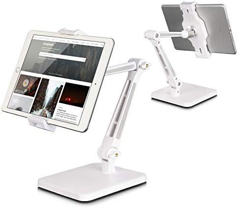 Tablet Stand and Holder Adjustable Tablet Holder for Desk Foldable iPad Holder Stand 360 Swivel product image