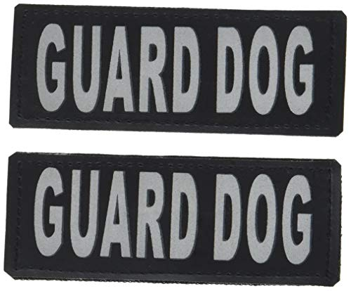 Dogline Guard Dog Removable Patches, Small/Medium