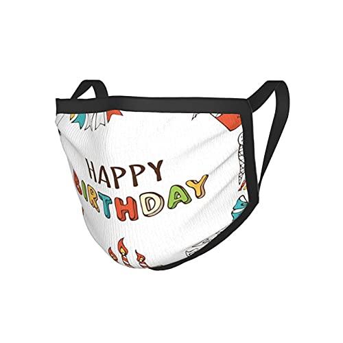 Decorazioni di compleanno disegnate a mano dolcetti festa Blowouts regali musica note ghirlande Es multicolore nero bordo maschera.Panno maschera