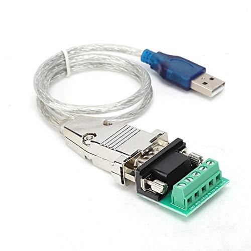 Socobeta Convertidor portátil Adaptador dúplex de Cuatro Cables Transmisión de Cable Chip dedicado rápido y Suave para transmisión de Datos