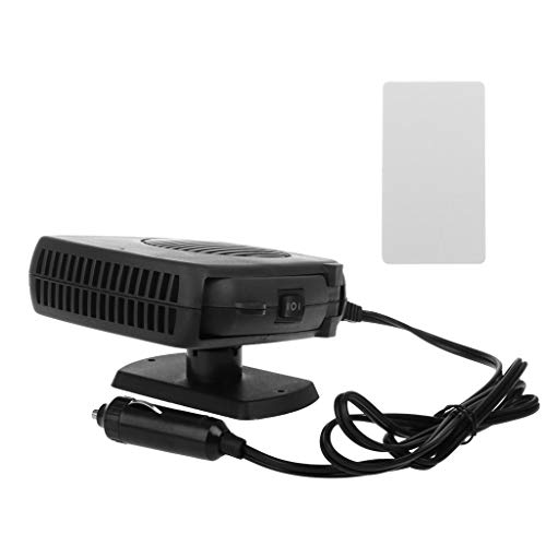 Hothap Chauffage de voiture portable hiver 12 V 2 en 1 pour voiture Van chauffage Defroster Cool Fan 150 W