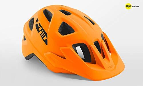 MET Echo Helm orange Matte Kopfumfang M/L | 57-60cm 2020 Fahrradhelm