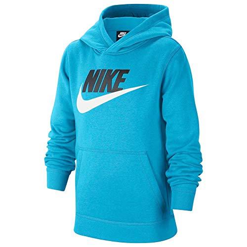 Nike Sudadera deportiva para niños (regular y extendida) - azul - Large