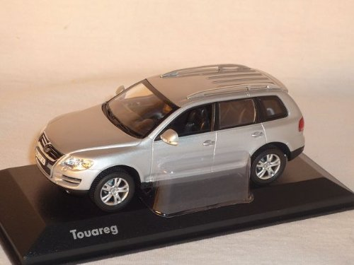 Volkwagen Touareg 2006-2010 Silber 1/43 Minchamps Modellauto Modell Auto