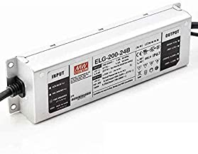 Mean Well 24V LED Driver ELG-200-24B – 150W-200W – 0-10v Dimmable – IP67