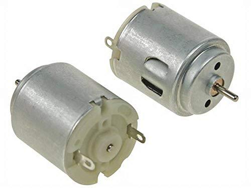 6V staubdichtes Metallgetriebe Mini-Motor aus reinem Kupferdrahtspule f/ür elektronische Schl/össer kleine Roboter usw. DIY-Spielzeugautos DC-Getriebemotor 6 V 600 U//min