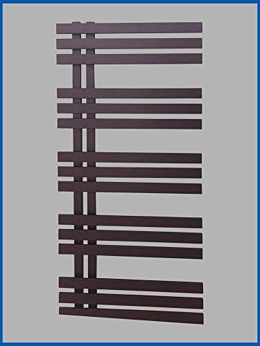 conception radiateur sèche-serviettes VERONA 1600 x 500 mm noir anthracite