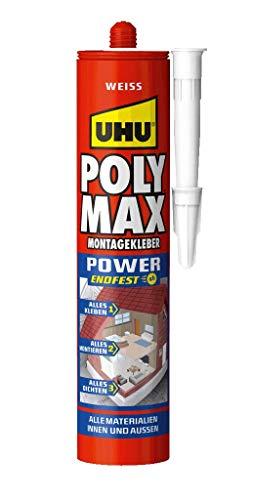 UHU POLY MAX EXPRESS, WEISS Kartusche 425g
