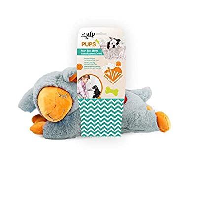 ALL FOR PAWS AFP Little Buddy - Heart Beat Sheep Grey