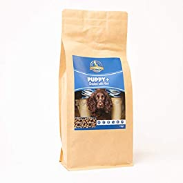 Dog & Field™ Puppy+ with Chicken & Rice Complete Hypoallergenic Nutritionally Balanced Dry Dog Food 1kg & 12kg