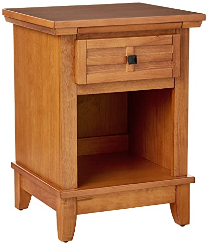 - Home Styles 5180-42 Arts and Crafts Night Stand, Cottage Oak Finish