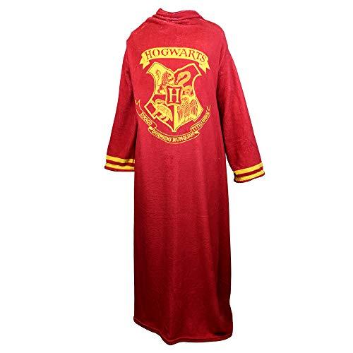 Cobertor Infantil com Manga Harry Potter Master Comfort 10070685-ML Vermelho Tecido