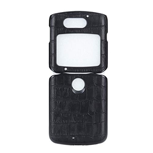 Custodia® Kunstleder Hülle Kompatibel für Motorola Razr 5G/Motorola Razr 2/Motorola Razr 2020/Motorola Razr gen 2 (1)