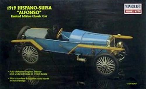 1919 Hispano-susia Alfonso Limited Edition 1 16th Scale by Minicraft Model Kits
