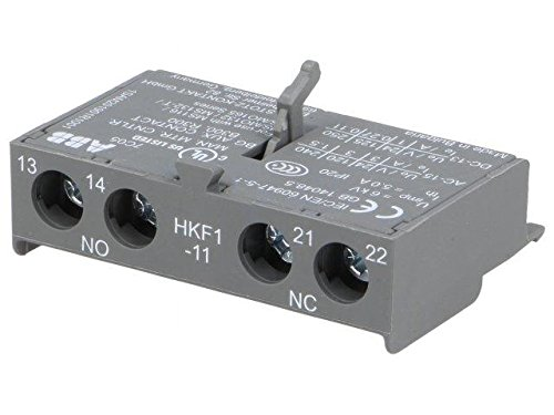 HKF1-11 Auxiliary contacts Auxiliary contacts NO + NC Mounting front ABB
