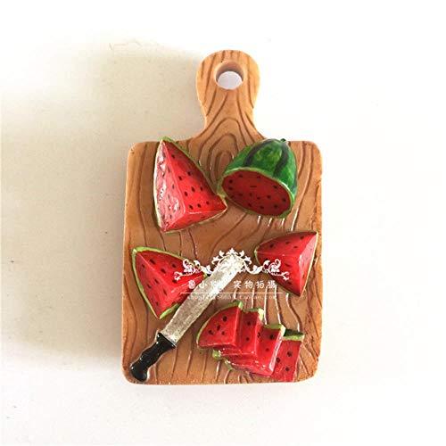 Lyt Koelkast Magneet Watermeloen Groente Tomaat Kinderlijke Banaan Zeevruchten Magneten Stickers Koelkast Home Decoraties