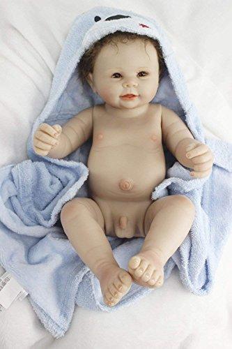 Silicone Baby Dolls Boy Newborn Silicone Full Body Lifelike Doll