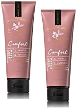 Bath and Body Works 2 Pack Aromatherapy Comfort Vanilla & Patchouli Body Cream 8 Oz.