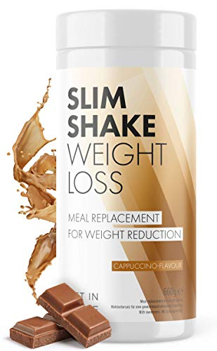 Slim Shake - der Shape Shake und Abnehm Shake (Diät Shakes) - Mahlzeitersatz mit dem Eiweiß Shake - von Get In Shape (Schokolade)