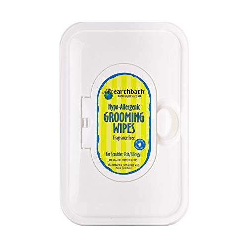 Earthbath All Natural Grooming Wipes,...