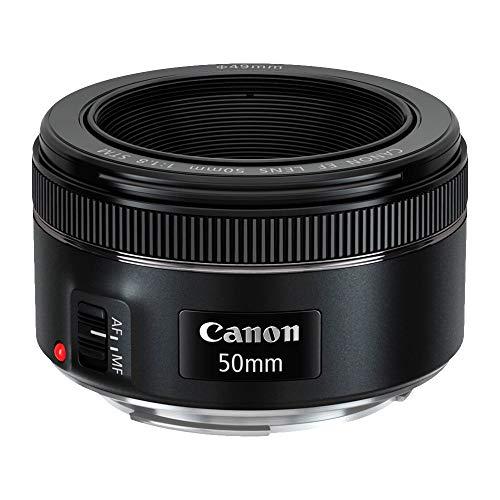 Lente Objetiva EF 50mm F/1.8 STM Canon